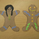 Classic Gingerbread Boy and Girl