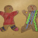 Gingerbread Girl and Gingerbread Zombie